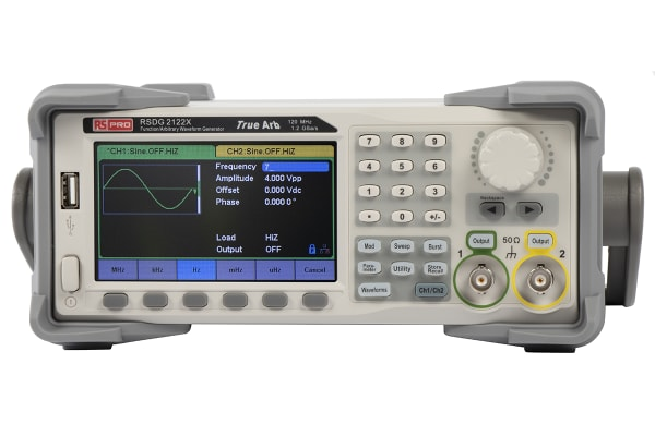 Product image for Waveform generator 120MHz,2 channels