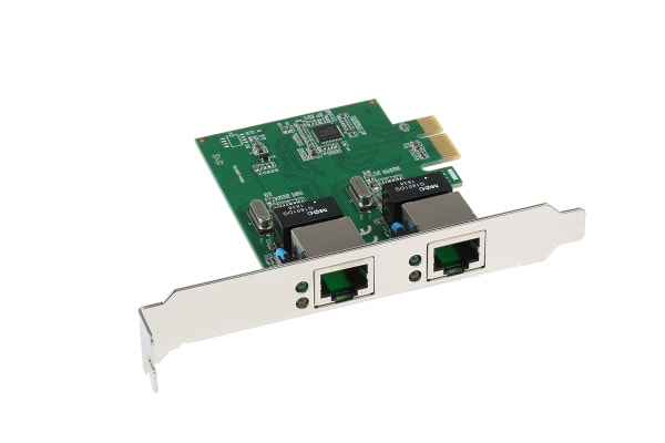 Product image for Startech 2-Port PCIe Network Card