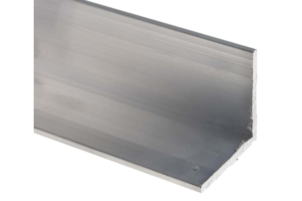 Product image for 6082T6 Aluminium Angle,40mmx40mmx3mmx1m