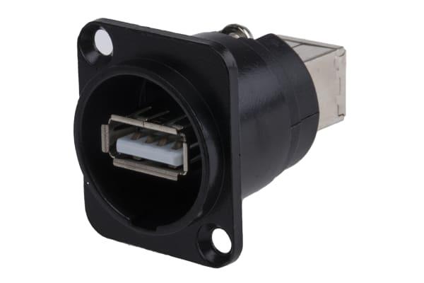 Product image for FT XLR USB A - USB B BLACK METAL