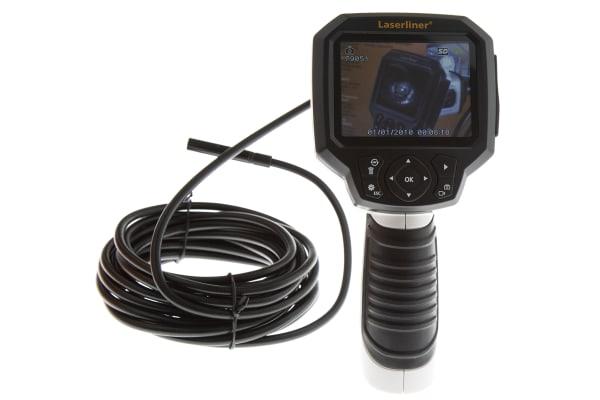 Product image for Laserliner 9mm probe Inspection Camera, 5m Probe Length, LED Illumination