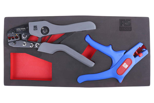 Product image for RS PRO 250 mm Chrome Vanadium Steel Pliers