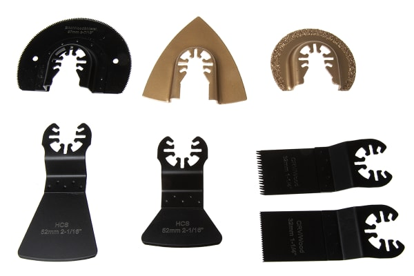 Product image for 7pcs Oscillating Blade Set (for wood)