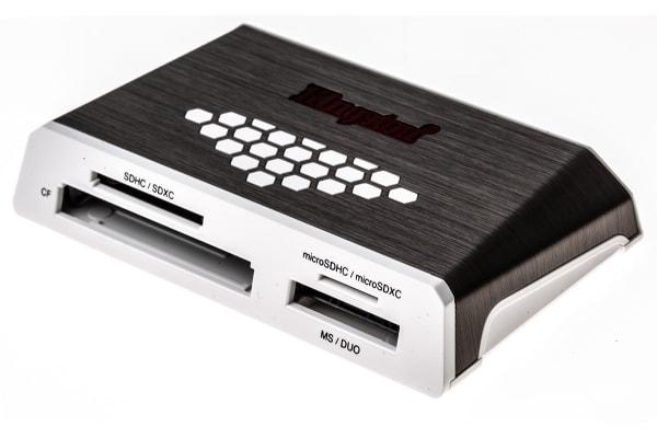 Product image for KINGSTON USB 3.0 MEDIA CARD READER