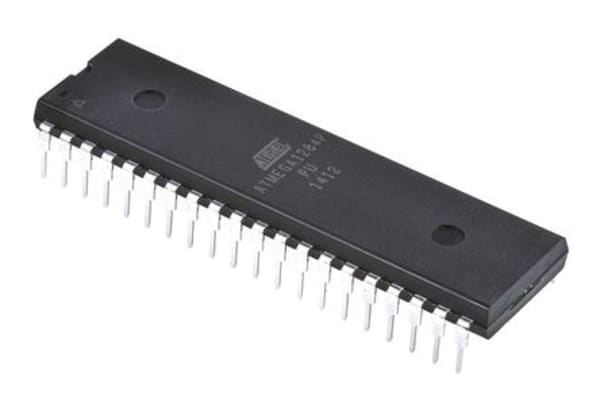 Product image for MCU 8Bit ATmega AVR 128KB Flash PDIP40 W