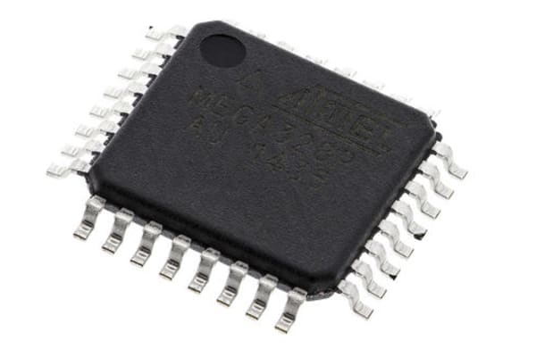 Product image for 8 bit Microcontroller, AVR 32K FLASH