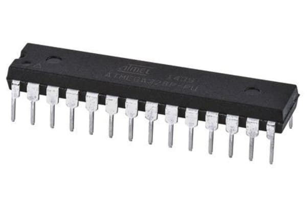 Product image for Microcontroller AVR 32K FLASH 2K SRAM