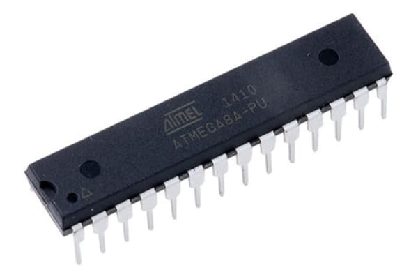 Product image for MCU 8Bit ATmega AVR 8KB Flash PDIP28 W