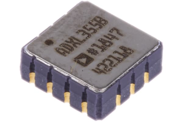 Product image for Accelerometer IC 3-Axis ±2/±4/±8g LCC-14