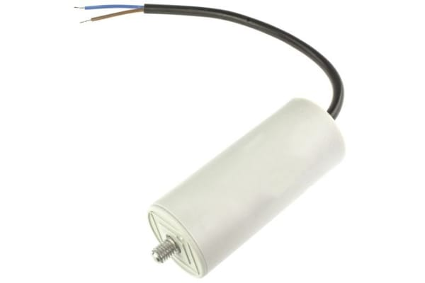 Product image for Ducati Energia 5μF Polypropylene Capacitor PP 400 → 450V ac ±5% Tolerance Plug In 4.16.17 Series