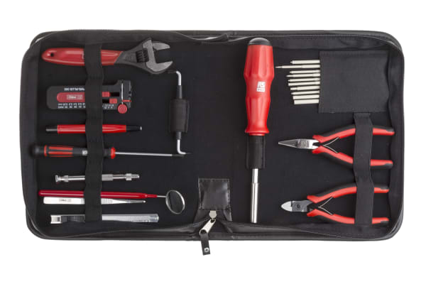Product image for 32 Piece Electronics Tool Kit