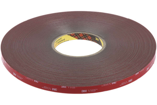 Product image for 3M VHB Tape GPH-110GF, grey, 12mm x 33m