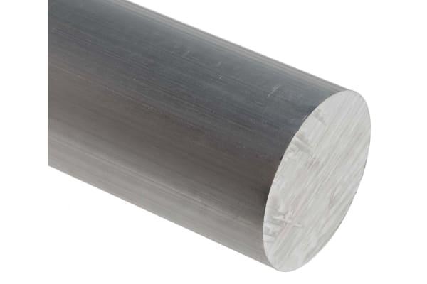 Product image for 6082T6 Aluminium rod, 40mmdia x 1m, 1 pk