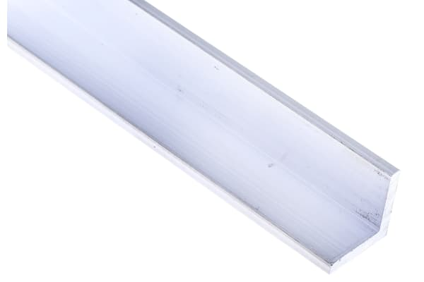 Product image for 6082T6 Aluminium angle,20x20x3mmx1m,10pk