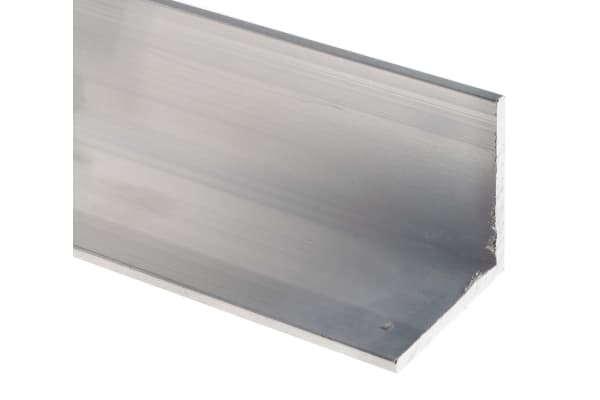 Product image for 6082T6 Aluminium angle,50x50x5mmx1m, 5pk