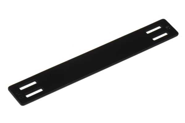 Product image for Arrowtag Plate 63x9 mm black
