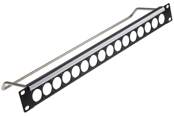 Product image for 1U X 16 PANEL ASSY 4-40 HOLES