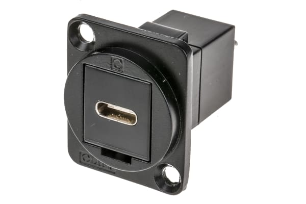 Product image for FT BLK METAL USB-C (F-M) CSK
