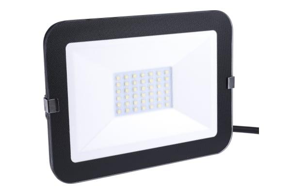 Product image for FRAMELESS 30W LED FLOOD BK 4000K