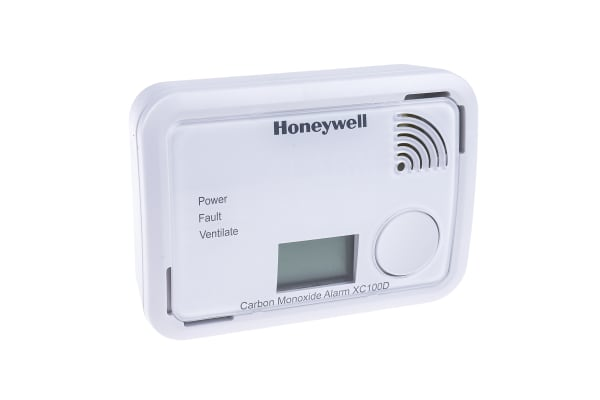 Product image for Honeywell Carbon Monoxide Ceiling, Free Standing, Wall Gas Detection, For Domestic Environments