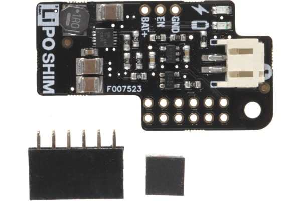 Product image for LIPO SHIM BATTERY BOARD FOR RASPBERRY PI