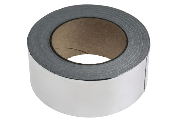 Product image for RS Pro 40 micron foil tape 50mm x 45m