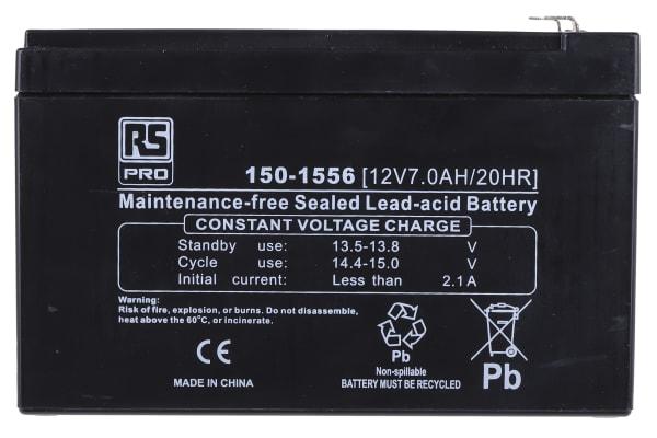 Product image for 12V7A Lead acid Flame retardant case