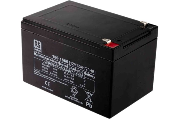 Product image for 12V12A Lead Acid Flame retardant case