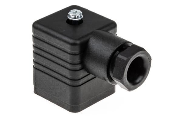 Product image for GDM  3P+E BLACK HOUSED SOCKET PG9