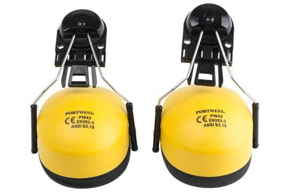 Product image for CLIP ON EAR PROTECTOR YELOW