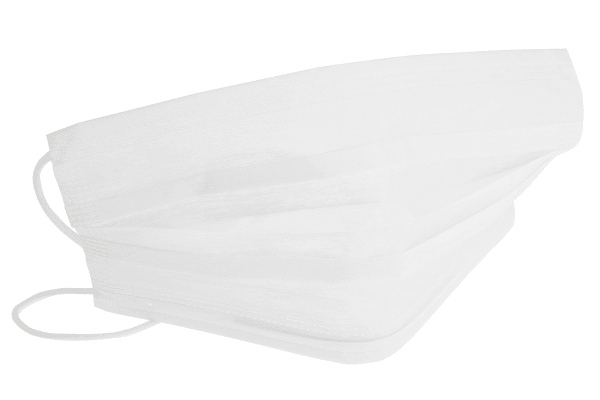 Product image for Face Mask w/ Headband 210x90mm Cleanroom