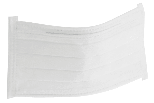 Product image for Face Mask w/Earloops 210x90mm Cleanroom
