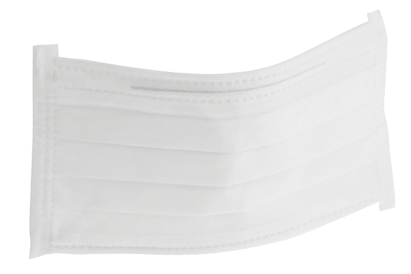Product image for Face mask w/Earloops 180x90mm Cleanroom