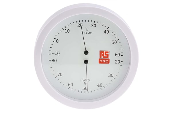 Product image for RS PRO Analogue thermometer/hygrometer