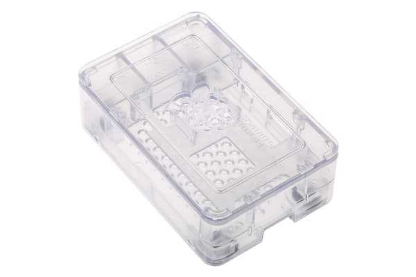 Product image for Raspberry Pi 3 Enclosure, Clear