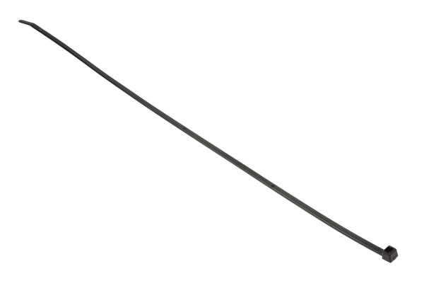 Product image for Black cable tie 390x4.6mm