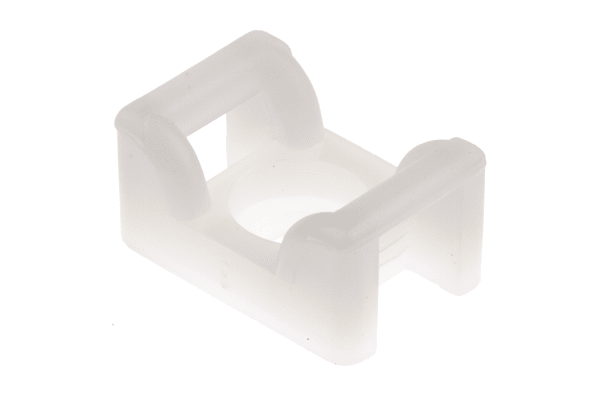 Product image for Natural M4 Screw Fix Cable Tie Cradle