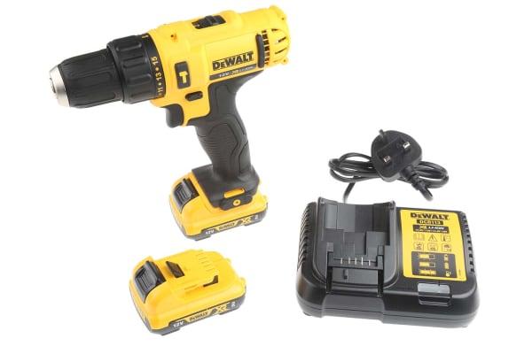 Product image for DeWALT XR Brushless Keyless 12V Cordless Drill Driver, UK Plug