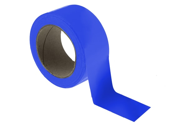 Product image for Floor marking tape blue 50mmx33m
