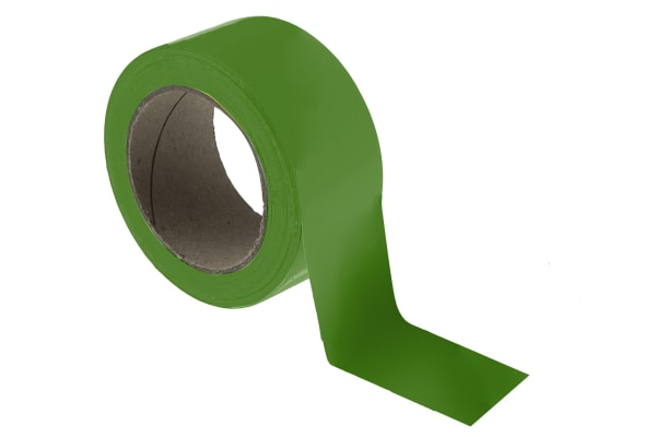 Product image for Floor marking tape green 50mmx33m