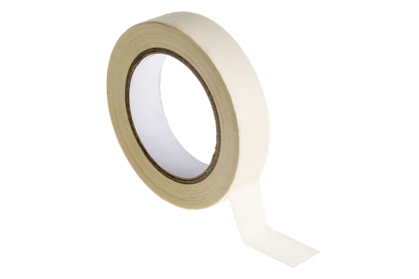 Product image for 60°C paper masking tape 25mmx50m