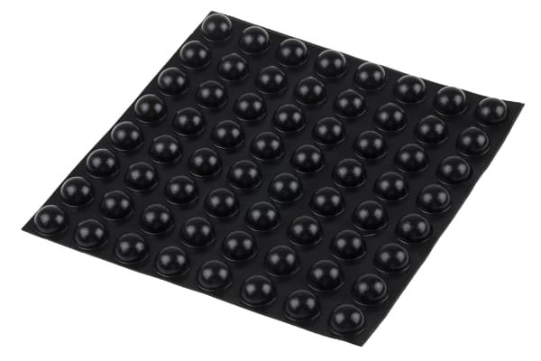 Product image for GREY STICK ON , 7.9MM H X 15.7MM DIA