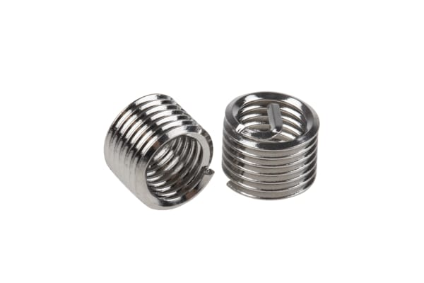 Product image for Thread Inserts M5 x 0,8  1.5mm (Pk 20)