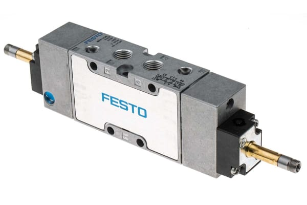 Product image for MFH-5/3G-1/4-B solenoid valve