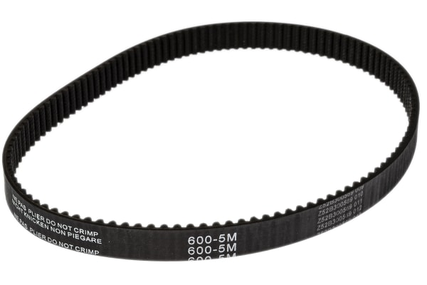 Product image for HTD Timing Belt 600-5M-15
