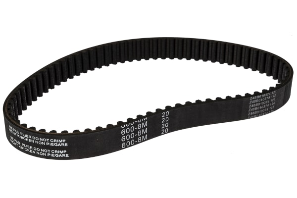 Product image for HTD Timing Belt 600-8M-20