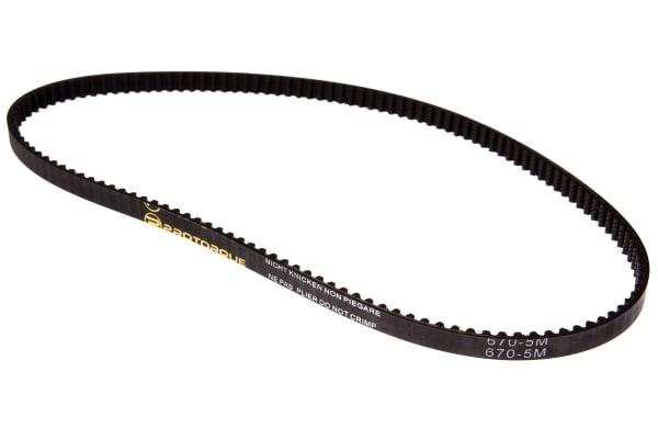 Product image for HTD Timing Belt 670-5M-9