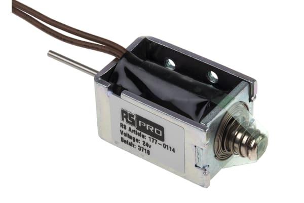 Product image for DC D Frame Solenoid 24v