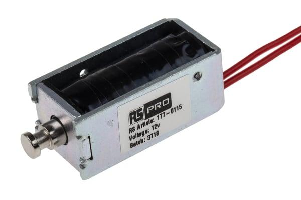 Product image for DC D Frame Solenoid 12v