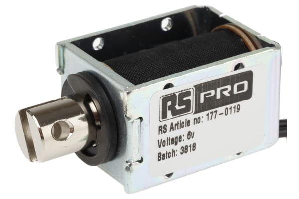 Product image for DC D Frame Solenoid 6v